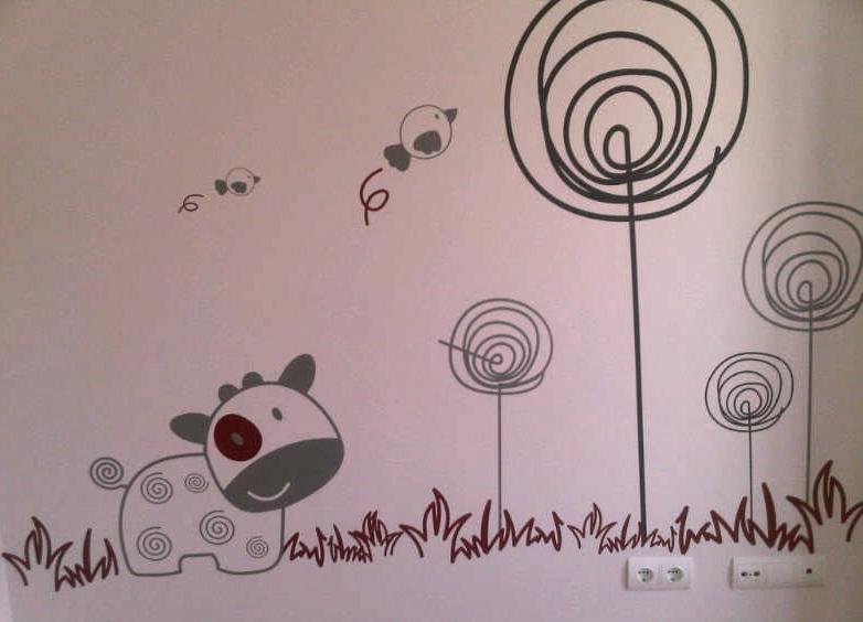 habitacion-infantil-vinilo-pared-2